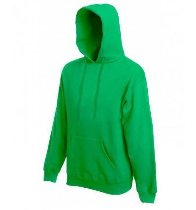 Sudadera Capucha Classic para Campañas Publicitarias Color Verde Kelly
