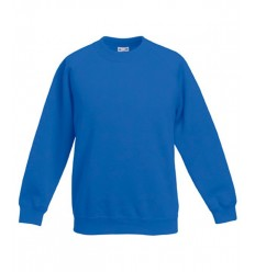 Sudadera Raglan Classic de Niño/a para Publicidad Promocional Color Azul Royal