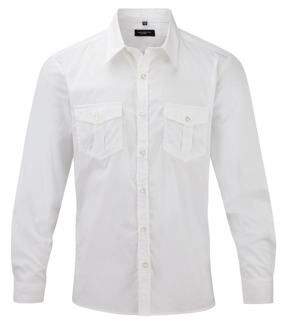 Los Hombres de la marca Camisa de Manga Larga Camisas de
