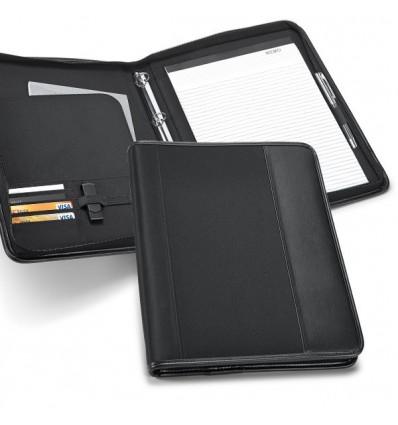 Portafolios de Polipiel y Microfibra Negro para Regalo de Empresa