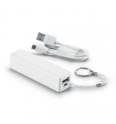Batería Portátil Power Bank Blanca para Regalo de empresa
