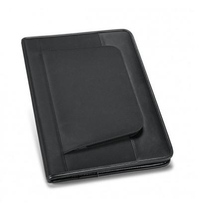 Portafolios con Bolsillo Exterior para Merchandising Color Negro