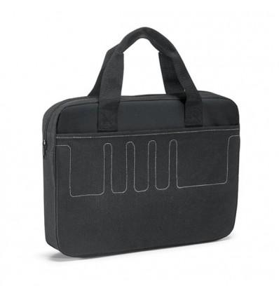 Maletín Multiusos con Interior Forrado con Logo Personalizado Promocional Color Negro