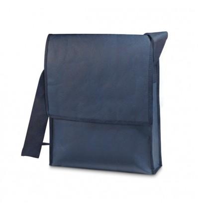 Maletín Bandolera de Non-Woven para Regalo Personalizado Color Azul