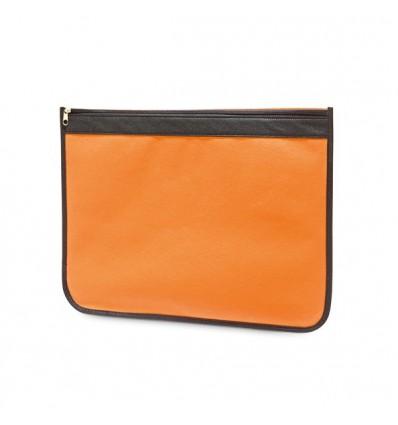 Funda Portadocumentos de Non-Woven Personalizada Color Naranja