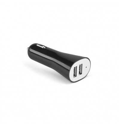 Cargador USB de Coche Promocional Color Negro