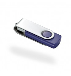 Memoria USB Giratoria Color Azul