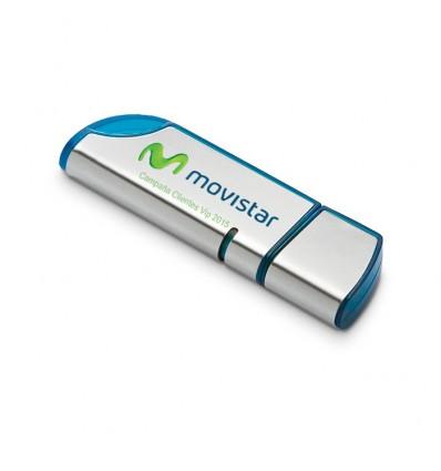 Memoria USB con Tapa Movistar
