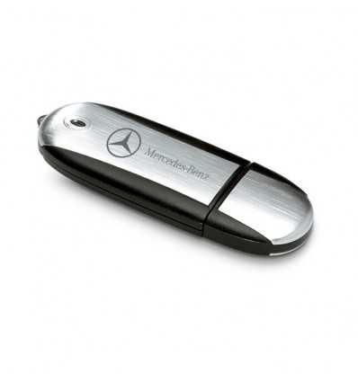 Memoria USB Cuerpo Transparente Mercedes Benz
