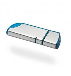 Memoria USB con Tapa Color Azul