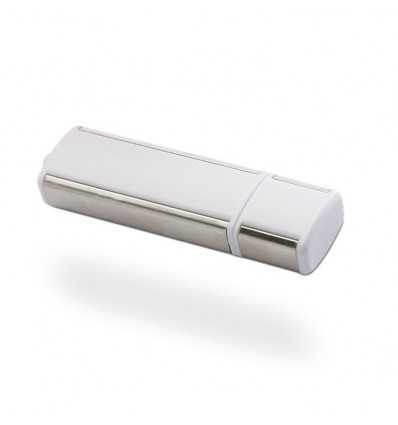 Memoria USB Compacta Color Blanco