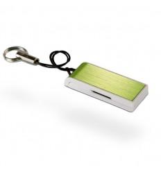 Memoria USB Ultradelgada Color Verde Lima
