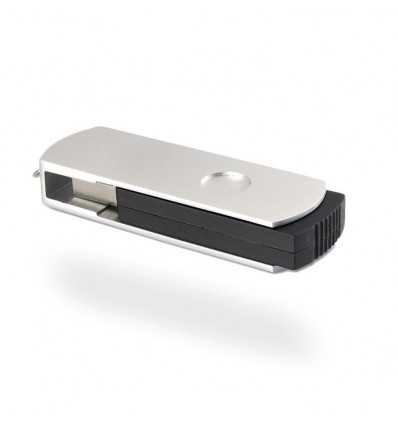 Memoria USB de Aluminio Color Plateado Mate