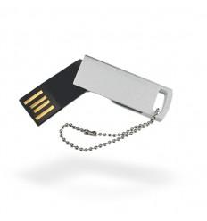 Memoria USB Ultrafina Color Plateado Mate