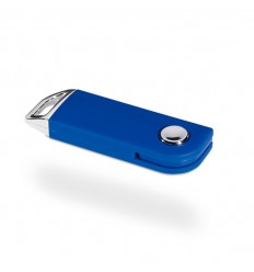 Memoria USB Retráctil Color Azul
