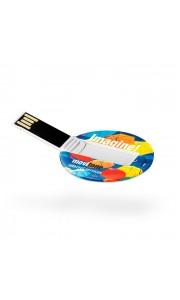 Memoria USB Redonda