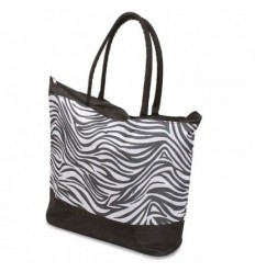 Bolsa de Playa con Diseño de Cebra