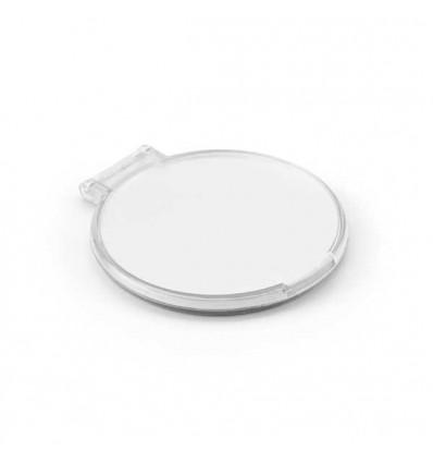 Espejo de Maquillaje Redondo de Plástico con logo Personalizado