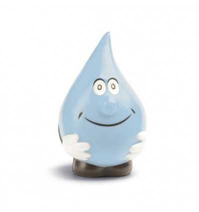 Gota de Agua Azul Antiestrés para Merchandising