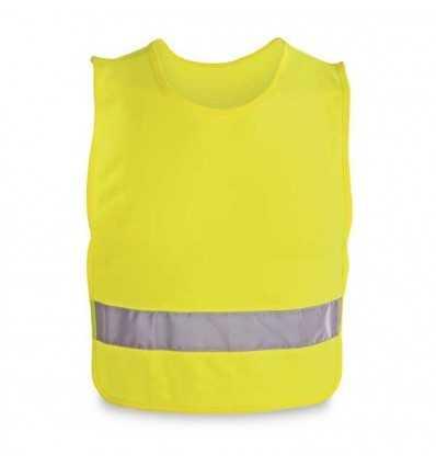 Chaleco Reflectante para Niños Promocional Color Amarillo