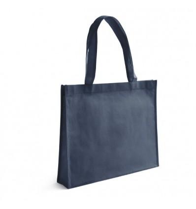 Bolsa de la Compra de Non-Woven con Logo Personalizado Promocional Color Azul