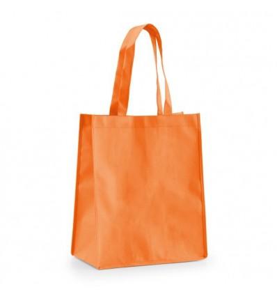 Bolsa Non-Woven de la Compra para Publicidad Promocional Color Naranja