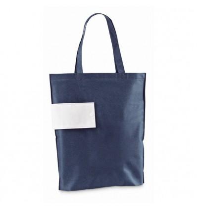 Bolsa Plegable Termosellada para Publicidad de Empresa Color Azul