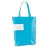 Bolsa Plegable Termosellada con Logo Personalizado Promocional Color Azul Claro