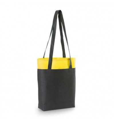 Bolsa con Doble Fondo para Regalo de Empresa Color Amarillo