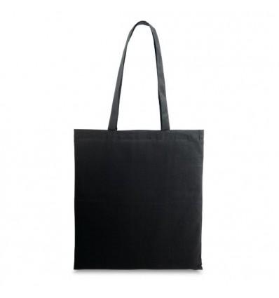 Bolsa 100% Algodón para Logo de Empresa Color Negro