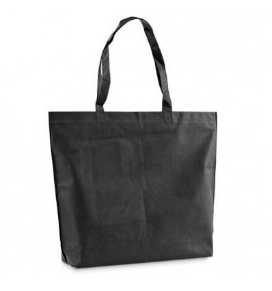 Bolsa Non-Woven Termosellada con Logo Personalizado Promocional Color Negro
