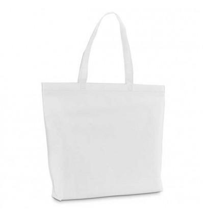 Bolsa Non-Woven Termosellada para Merchandising Color Blanco