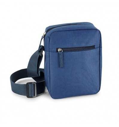 Bolso Bandolera con Bolsillo Delantero para Regalo Publicitario Color Azul