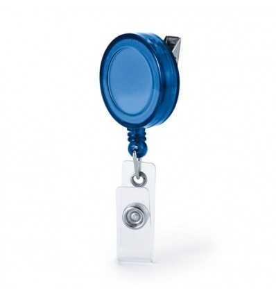 Porta Credenciales Extensible para Regalo Promocional Color Azul