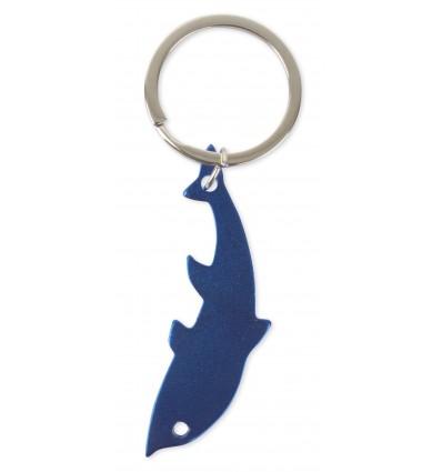 Llavero Abridor en forma de Delfin Merchandising Color Azul