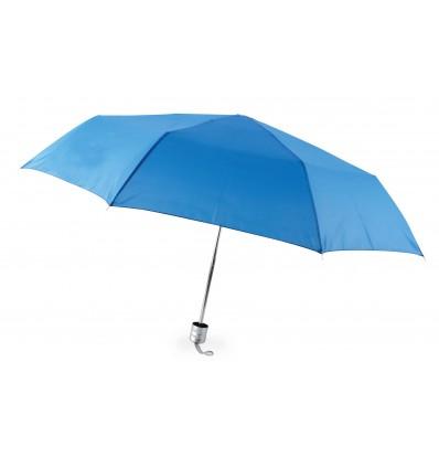 Paraguas Plegable para Publicidad con Logo Promocional Color Azul