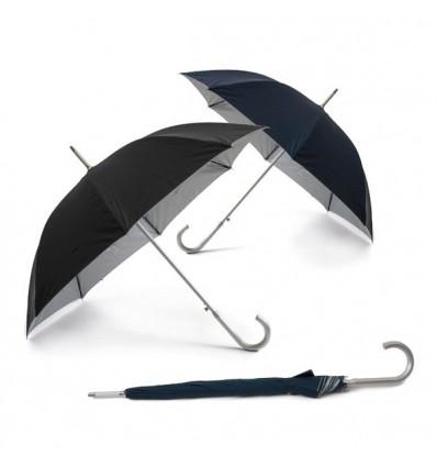 Paraguas de Poliéster personalizado con logo de empresa