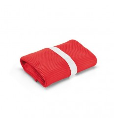 Manta Polar Roja para Merchandising