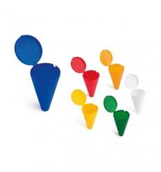 Cenicero Cono de Playa con Logo Promocional