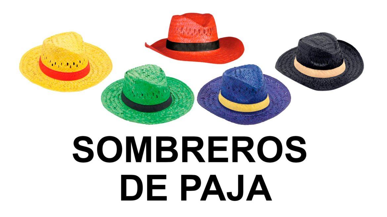 59ef26316fa Los sombreros de paja personalizados, una alternativa distinta de publicidad