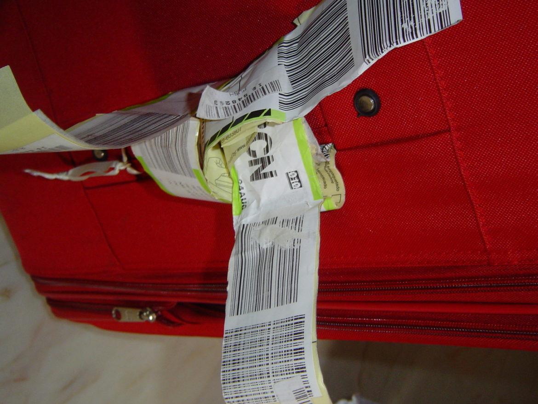 Identificadores personalizados para maletas