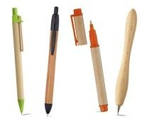 Bolígrafos ecológicos publicitarios baratos para comprar online