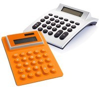 Calculadoras personalizadas baratas con logotipo