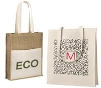 Bolsas ecológicas personalizables y reutilizables con logo