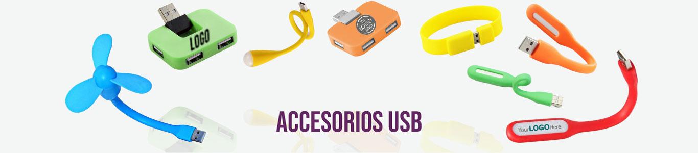 Accesorios USB personalizados para empresas y eventos