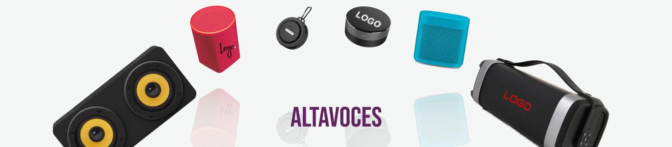 Altavoces personalizados para empresas y eventos