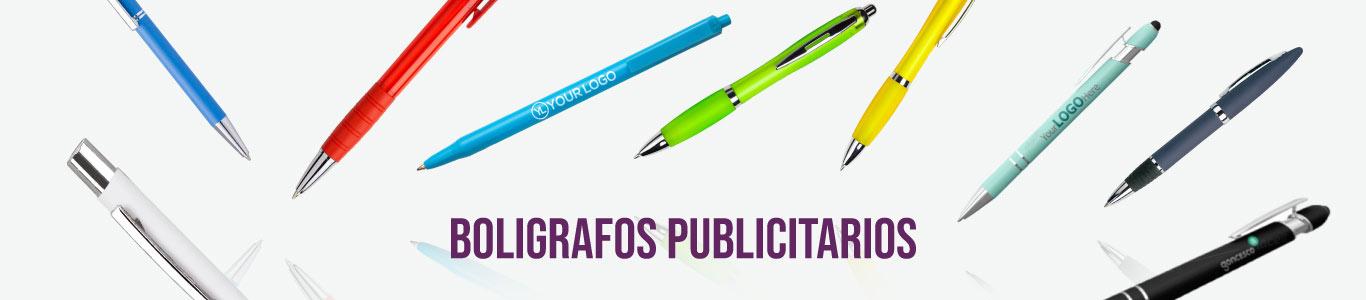 Bolígrafos de plástico personalizados para empresas y eventos