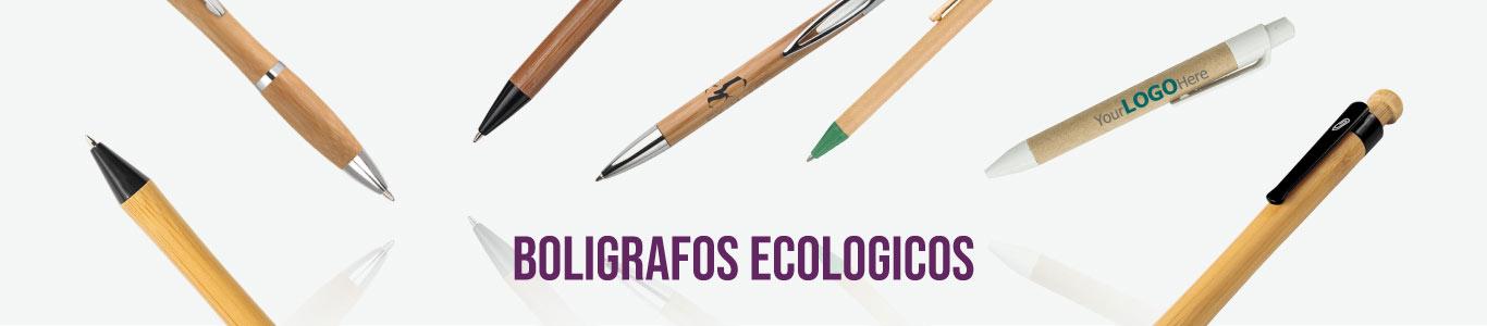 Bolígrafos ecológicos promocionales para empresas y eventos