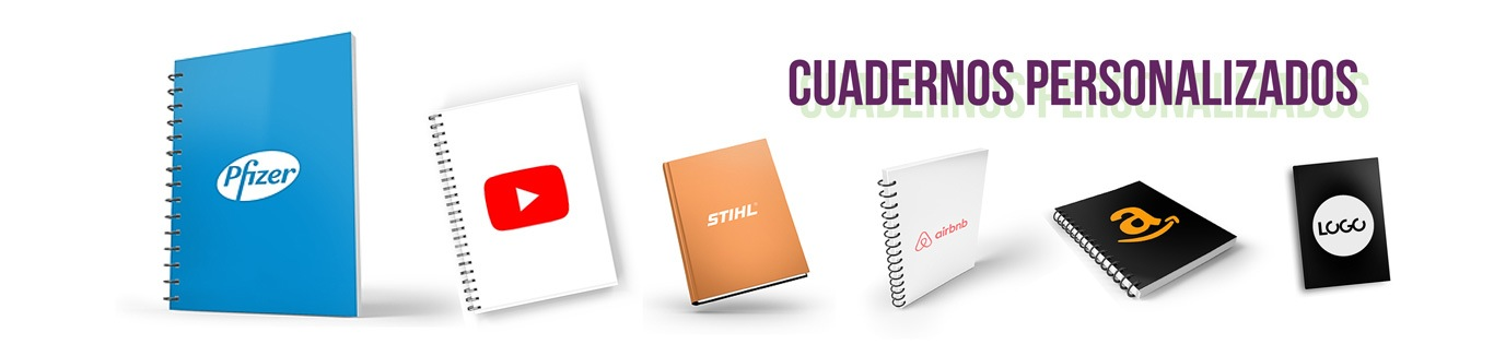Cuadernos Personalizados con Hojas Rayadas para Publicidad