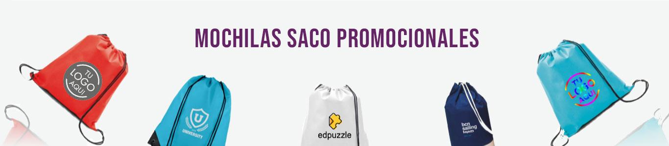 Mochilas Saco personalizadas para empresas y eventos